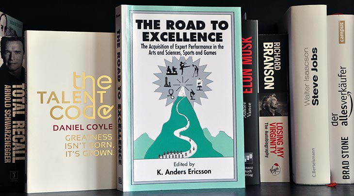 10.000 Stunden Regel K Anders Ericsson Road to Excellence