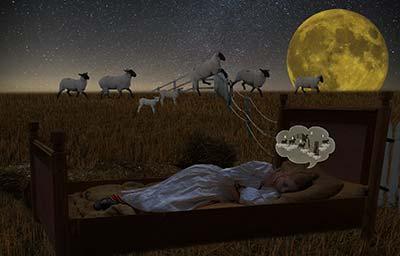 Einschlafprobleme - schnell einschlafen Trick