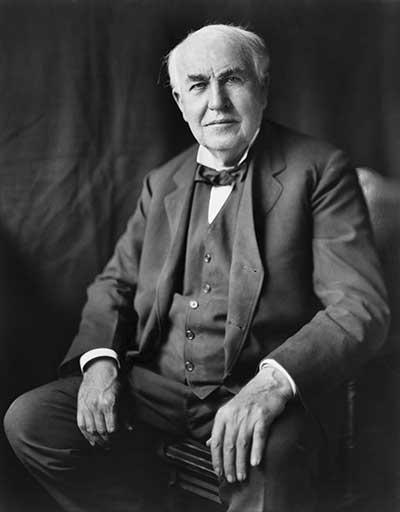 Zitate Erfolg Thomas Alva Edison